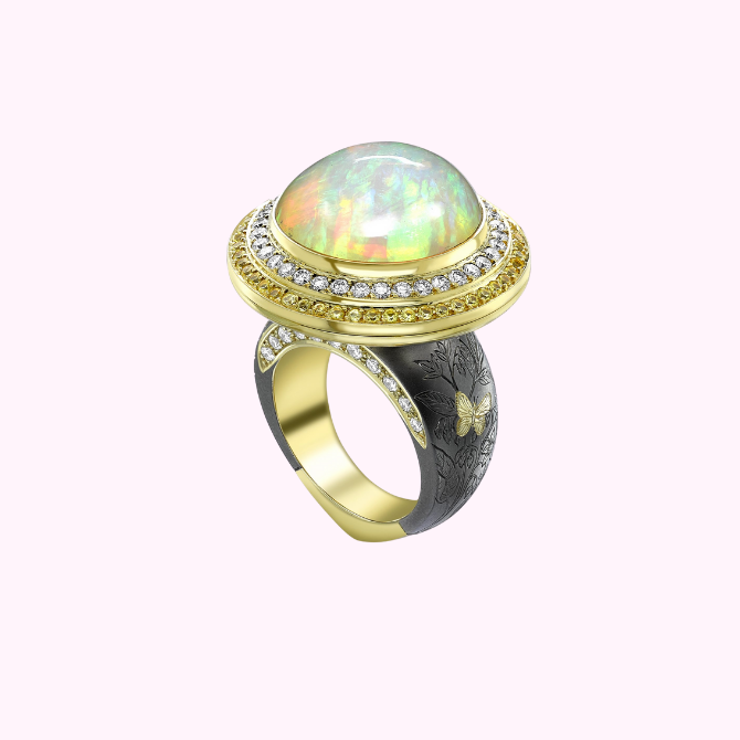 BURO. birthstone: Everything to know about October's opal (фото 5)