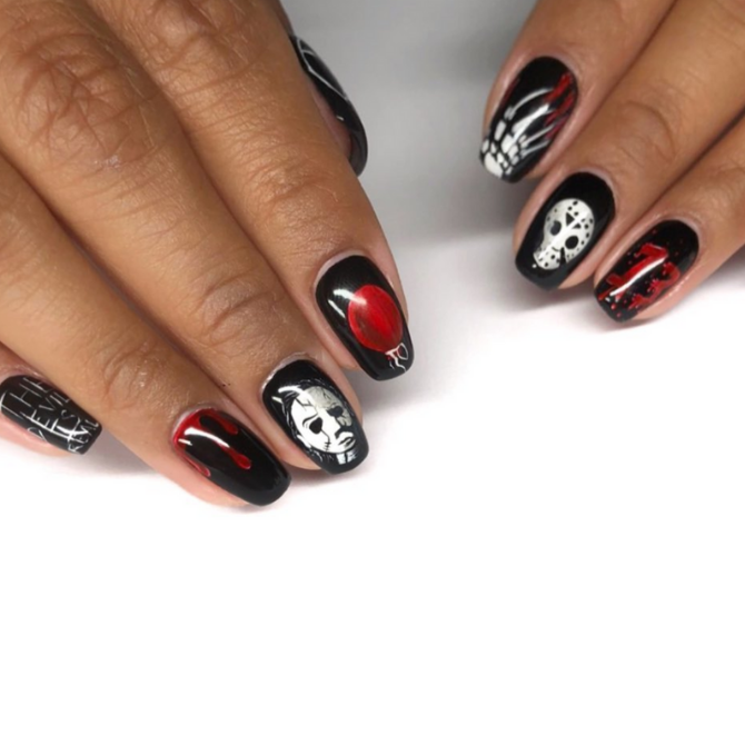 Get your spook on with these Halloween-inspired nails (фото 5)