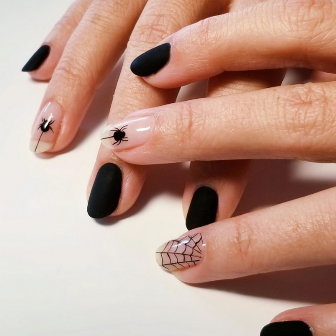 Get your spook on with these Halloween-inspired nails (фото 1)