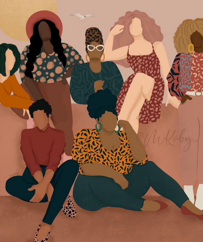 Artists from around the world celebrate International Women's Day (фото 7)