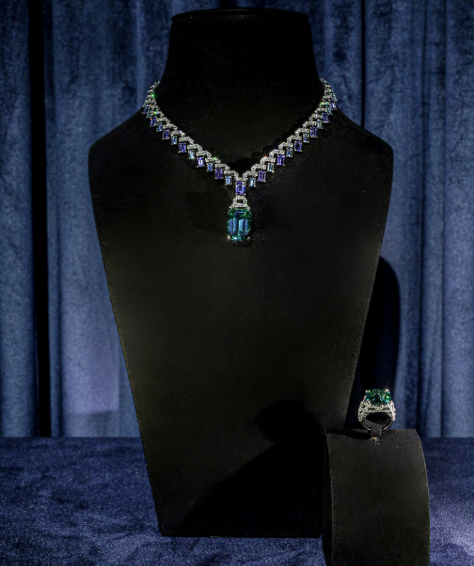 Louis Vuitton presents exceptional high jewellery pieces in Dubai (фото 2)