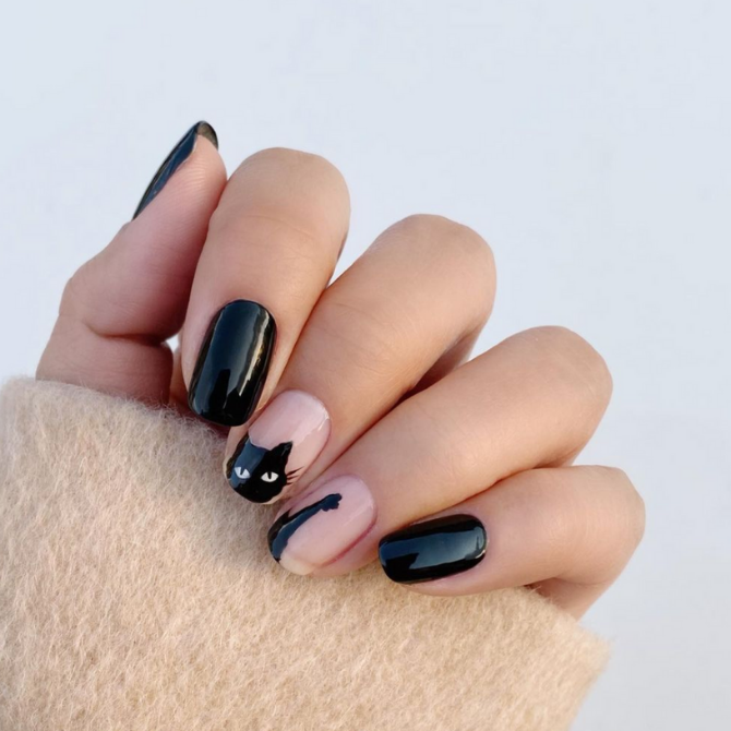 Get your spook on with these Halloween-inspired nails (фото 8)
