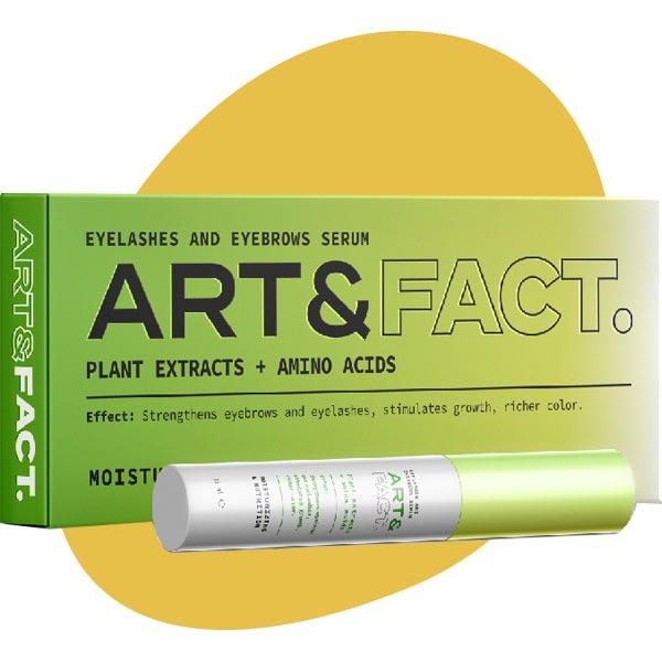 Сыворотка-активатор роста бровей, Art & Fact