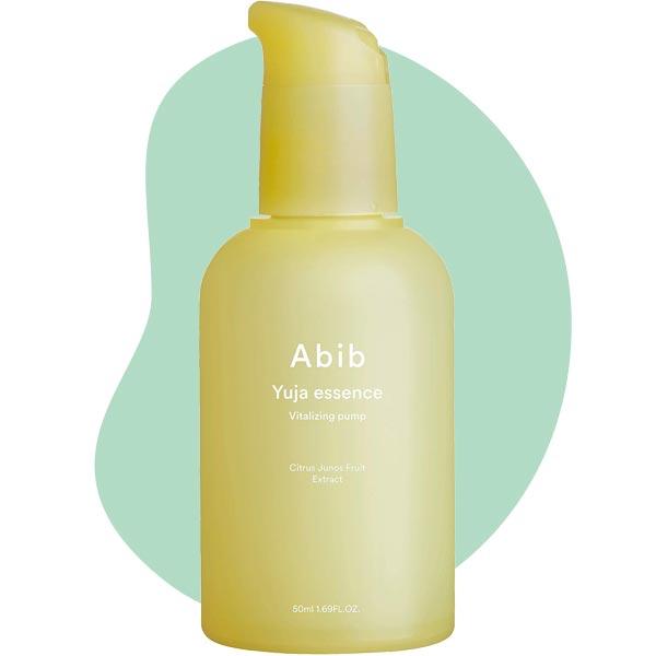 Осветляющая витаминизирующая эссенция с экстрактом юдзу Abib Yuja essence Vitalizing pump 50ml