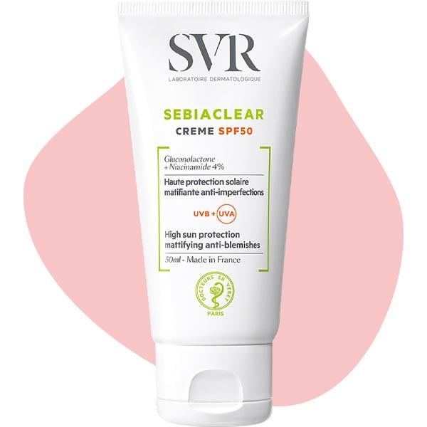 Крем Sebiaclear Crème SPF 50, SVR