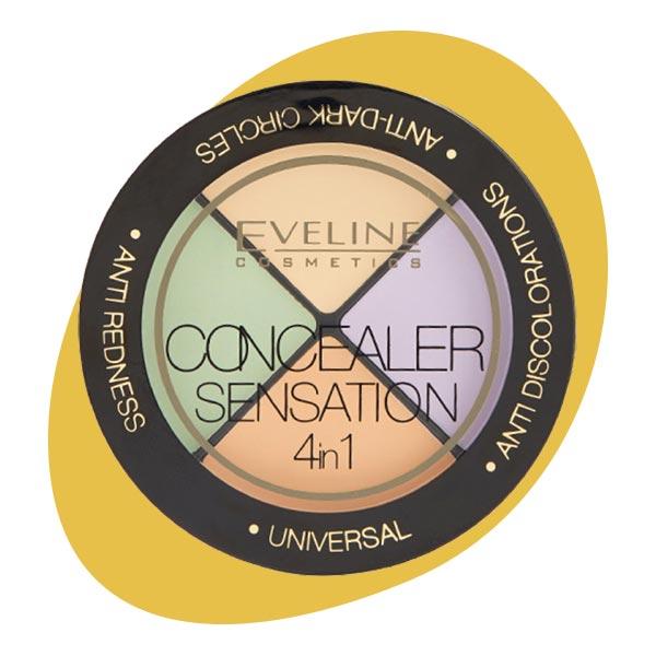 Набор корректоров для макияжа Sesation, Eveline
