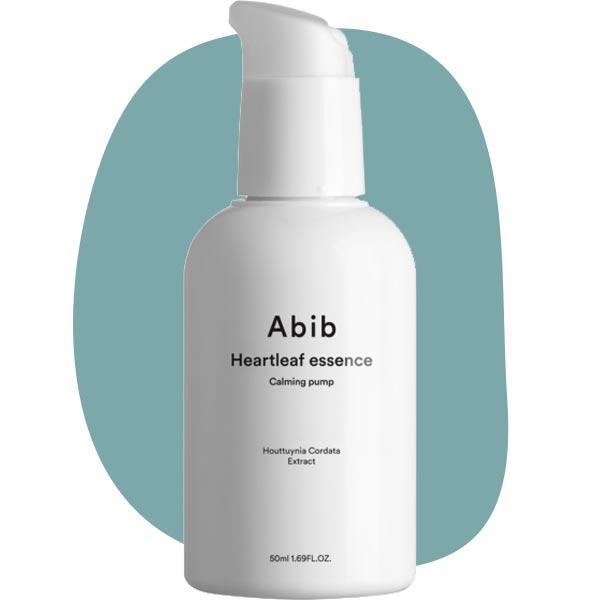 Успокаивающая эссенция с экстрактом хауттюйнии сердцевидной Abib Heartleaf essence Calming pump 50ml