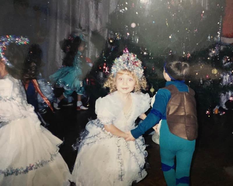 Марина Иванцова в детстве