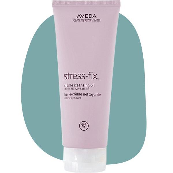 Очищающее гель-масло для душа Stress-fix Creme Cleansing Oil, Aveda