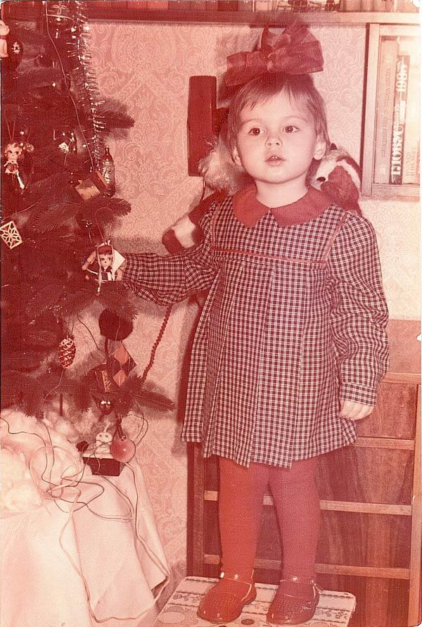 Антонина Голубева в детстве