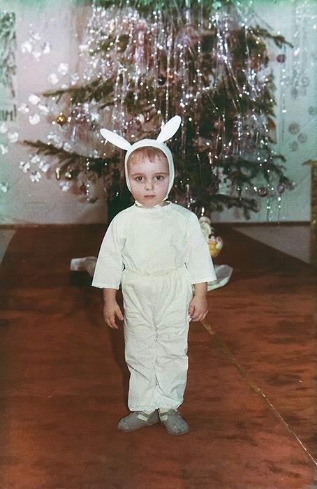 Денис Ковалев в детстве