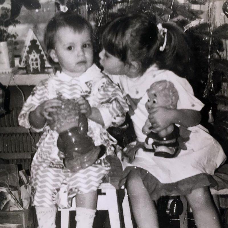 Татьяна Потапова в детстве