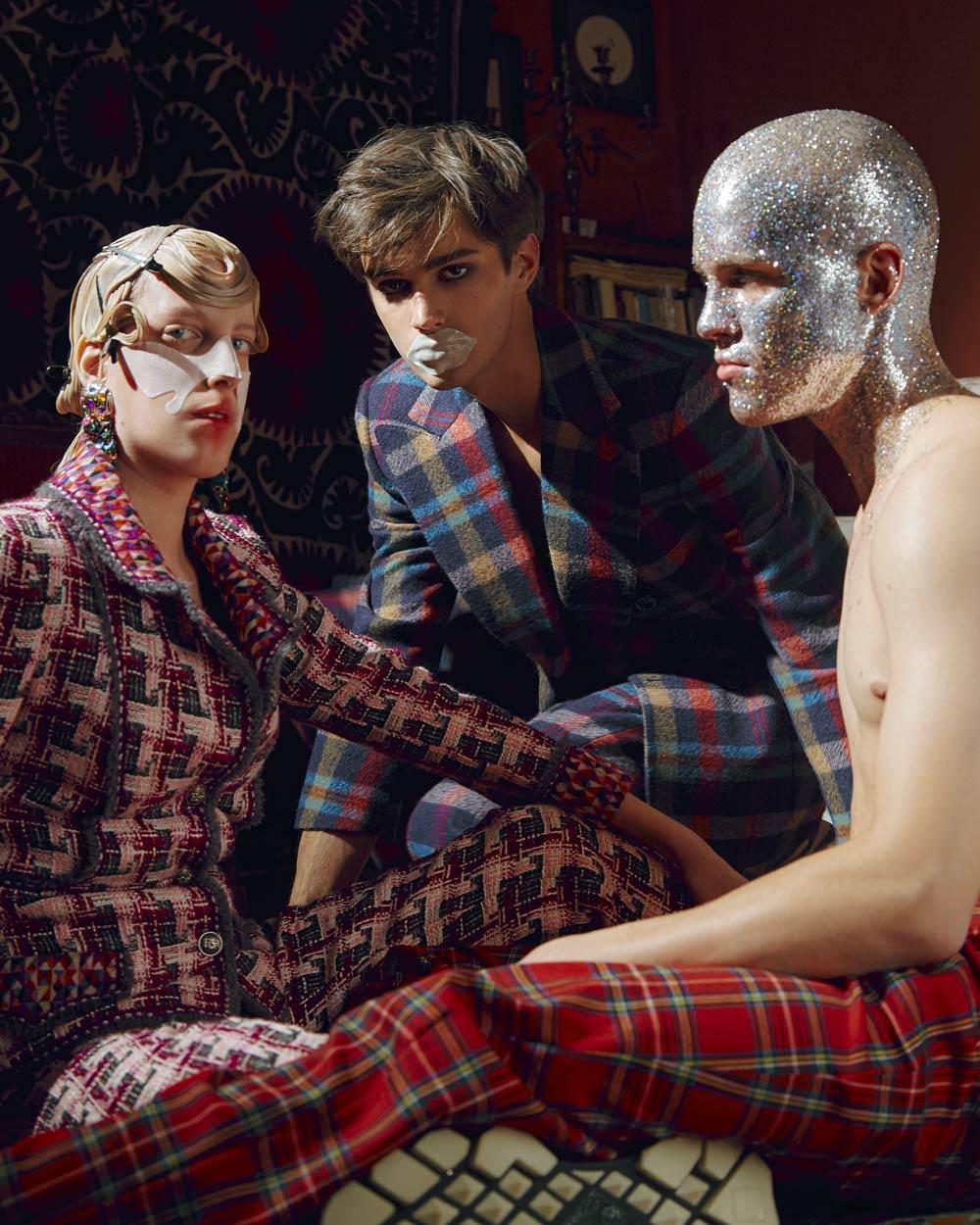 Сериал «Друзья»: съемка из зимнего номера Flacon Magazine