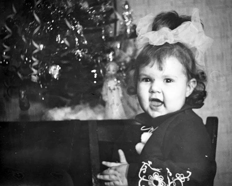 Ирина Кириенко в детстве
