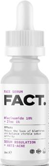Сыворотка для лица Niacinamide 10% + Zinc 1%, Fact