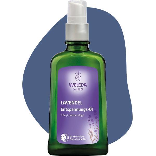 Лавандовое расслабляющее масло для тела, Weleda