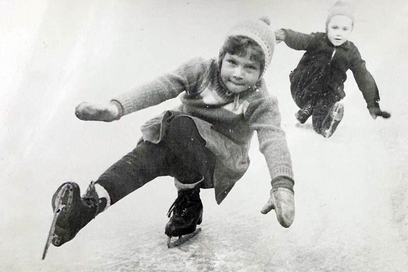 Алена Долецкая в детстве