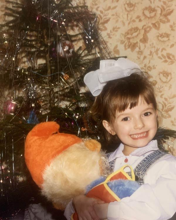 Лиза Васильева в детстве