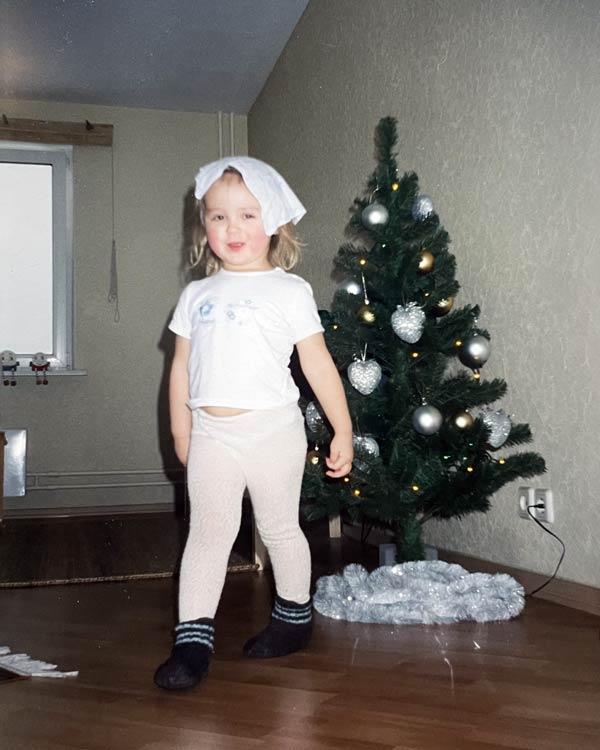 Ия Киселева в детстве