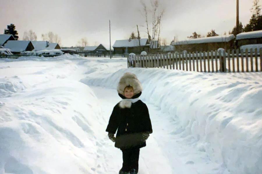 Лиза Рублева в детстве