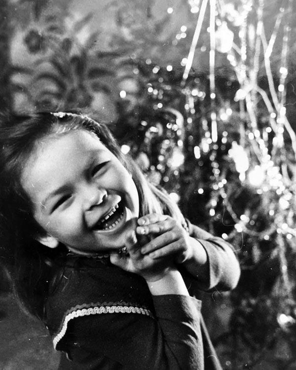 Екатерина Сахарова в детстве
